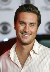 Oliver Hudson at the CBS celebration.