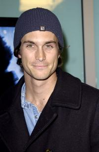 Oliver Hudson at the world premiere of