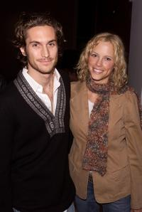 Oliver Hudson and Erin Bartlett at the screening of