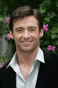 Hugh Jackman at the photocall to promote