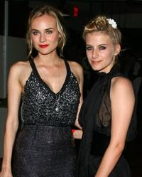 Diane Kruger and Melanie Laurent at the after party of the screening of