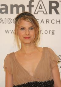 Melanie Laurent at the amfAR's Inaugural Cinema Against AIDS Rome.
