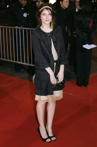 Melanie Laurent at the 32nd Nuit des Cesar ceremony, France's top movie awards.