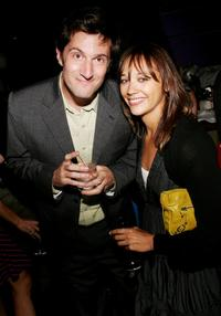 Michael Showalter and Rashida Jones at the after party of the premiere of