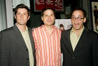Michael Showalter, Michael Ian Black and David Wain at the premiere of