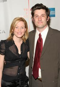 Elisabeth Banks and Michael Showalter at the screening of