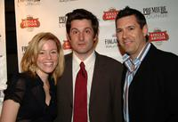 Elisabeth Banks, Michael Showalter and Michael Mueller at the screening of