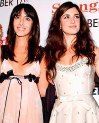 Cecilia Suarez and Paz Vega at the Los Angeles premiere of