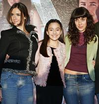 Paz Vega, Shelbie Bruce and Cecilia Suarez at the premiere of