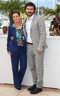 Giovanna Mezzogiorno and Filippo Timi at the 62nd International Cannes Film Festival.