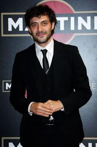 Filippo Timi at the Martini Premiere Awards ceremony.