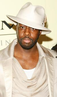 Wyclef Jean at the Sony / BMG Grammy party.