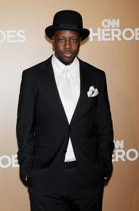 Wyclef Jean at the CNN Heroes: An All-Star Tribute.