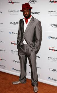Wyclef Jean at the Clive Davis pre-Grammy party.