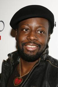 Wyclef Jean at the debut celebration of Audis Sports Car the R8.