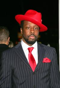 Wyclef Jean at the premiere party of