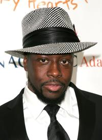 Wyclef Jean at the Heart of Gold Ball to benefit The Happy Hearts Fund.