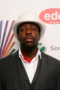 Wyclef Jean at the MTV Europe Music Awards 2007.