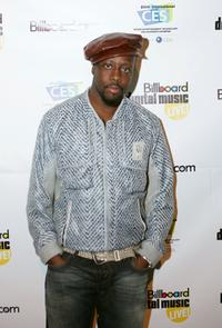 Wyclef Jean at the Billboard Music Conference.