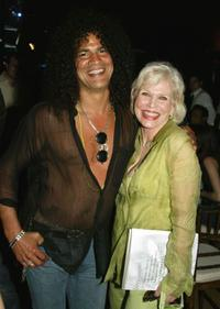 Slash and Maggie Blye at the after party of the premiere of