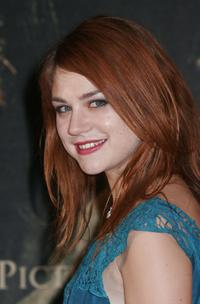 Emilie Dequenne at the French premiere of