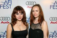 Emilie Dequenne and Director/Screenwriter Alante Kavaite at the screening of