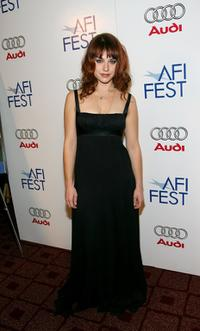 Emilie Dequenne at the screening of