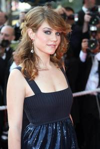Emilie Dequenne at the 60th edition of the Cannes Film Festival.