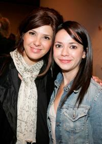 Marisa Tomei and Vanessa Martinez at the after party for the Celebrity Reading of