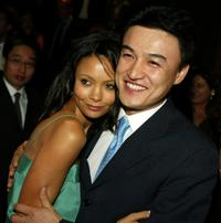 Thandie Newton and Park Joong-Hoon at the premiere of