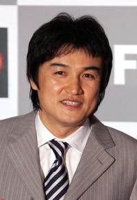 Park Joong-Hoon at the opening ceremony of the Pusan International Film Festival.