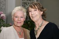Dame Judi Dench and Eileen Atkins at the launch party for BritWeek.