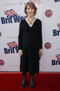 Eileen Atkins at the launch party for BritWeek.