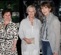 Imelda Staunton, Judi Dench and Eileen Atkins at the screening of