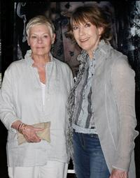 Judi Dench and Eileen Atkins at the screening of