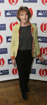 Eileen Atkins at the Oldie of the Year Award.