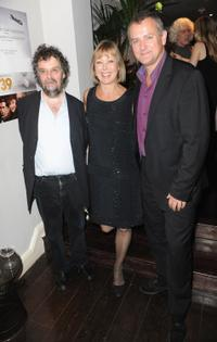 Director Stephen Poliakoff, Jenny Agutter and Hugh Bonneville at the Times BFI London Film Festival.