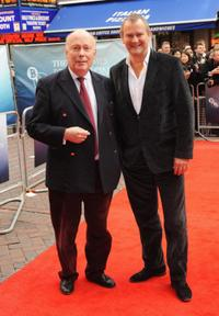 Director Julian Fellowes and Hugh Bonneville at the premiere of