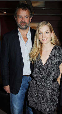 Hugh Bonneville and Joanne Froggatt at the screening of ITV's Downton Abbey in London.