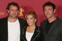 Hugh Bonneville, Natasha Richardson and Marton Csokas at the 55th Annual Berlinale International Film Festival.