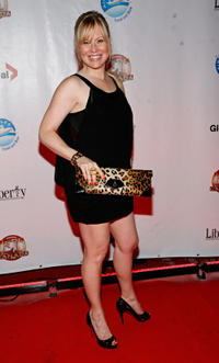 Kristin Booth at the premiere of