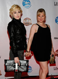 Charlotte Sullivan and Kristin Booth at the premiere of