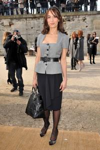 Dolores Chaplin at the Paris Womenswear Fashion Week Fall/Winter 2011.