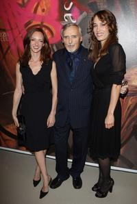 Dennis Hopper, Victoria Hopper and Dolores Chaplin at the