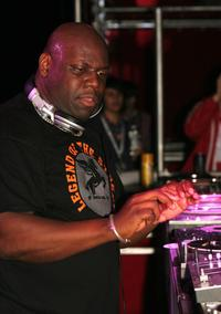 Carl Cox performs at the Exit Festival 2005.