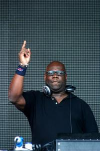 Carl Cox at the SW4 Metro Weekender on Clapham Common.