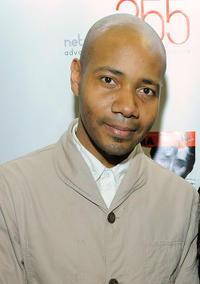 DJ Spooky at the Burmese Child Refugees Fundraiser Benefit in New York.