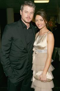 Eric Dane and Rebecca Gayheart at the 33rd Annual People's Choice Awards.