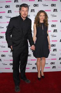Eric Dane and Rebecca Gayheart at the premiere of
