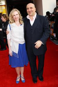 Omid Djalili and Guest at the world premiere of